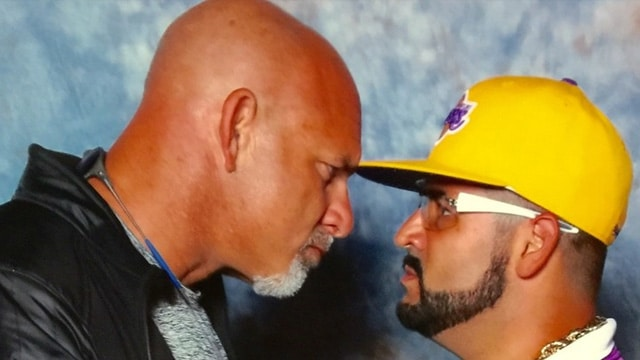 Goldberg Uncle Louie Staredown