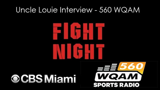 Uncle Louie Interview – 560WQAM